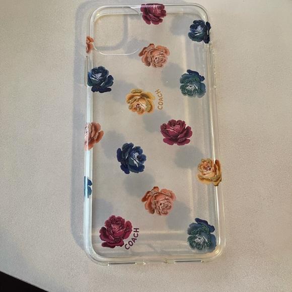 Coach floral iPhone 11 max case